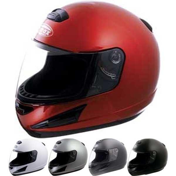 Dark Silver Metallic Medium GMAX GM17 Mens Open Face Street Motorcycle Helmet