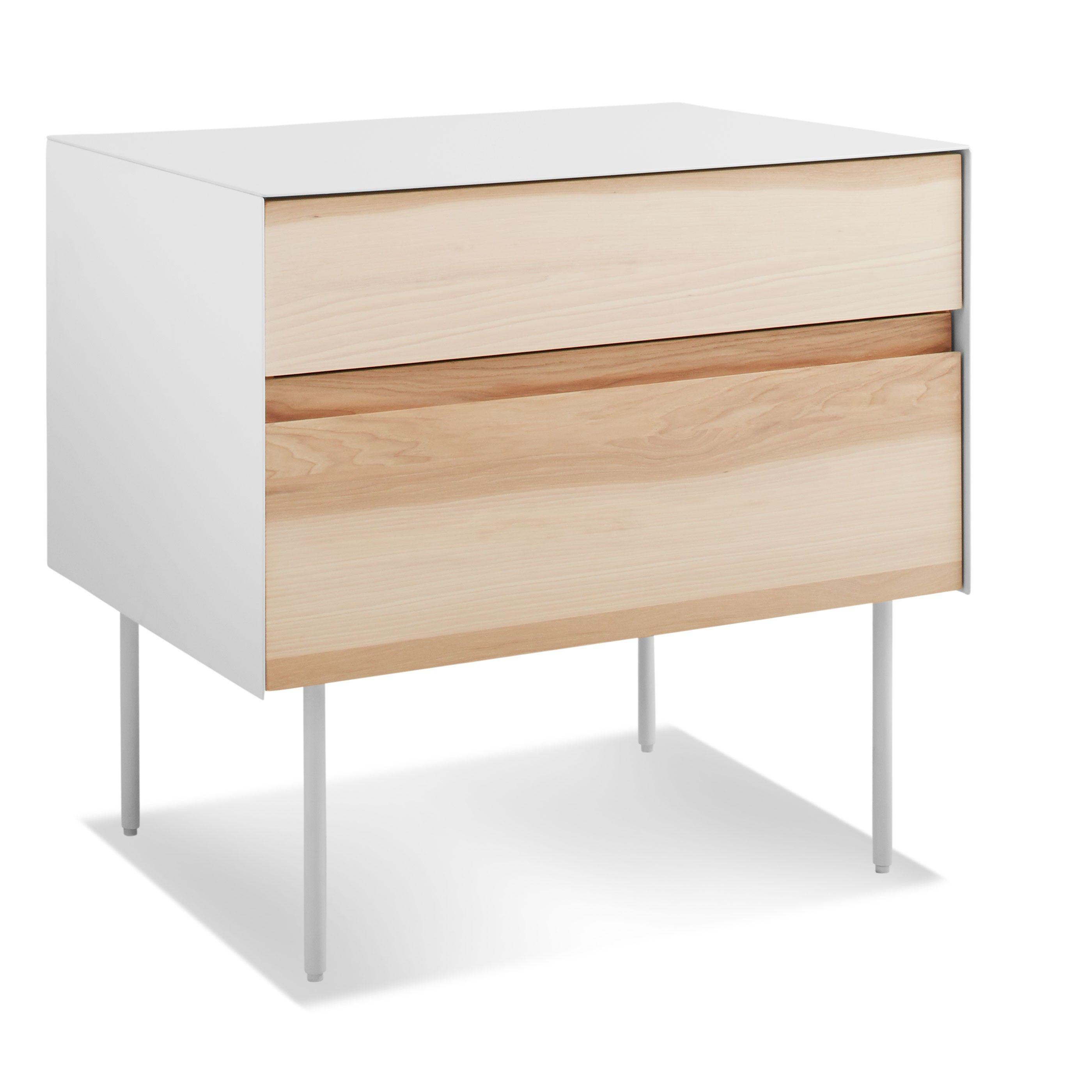 Clad Nightstand Nightstand, Modern bedside table