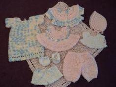 Free Pdf Crochet Pattern Sweetly 10 Inch Baby Doll Outfits Crochet Doll Pattern Crochet Dolls Baby Doll Pattern