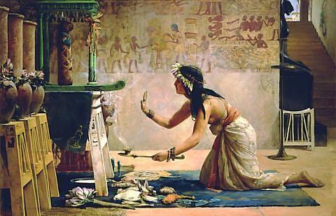 fazendo a egípcia