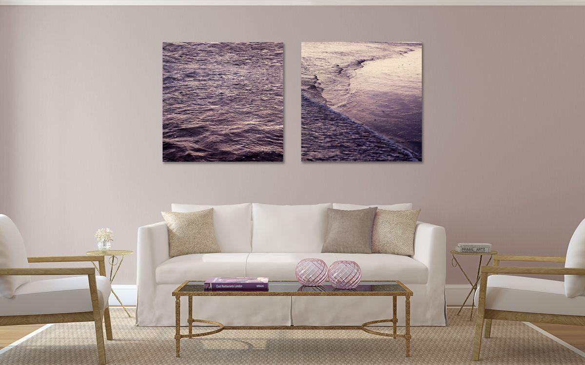 """Water abstracts"" © Natascha van Niekerk 80x80cm Acrylic prints Fine Art photography for home decor."