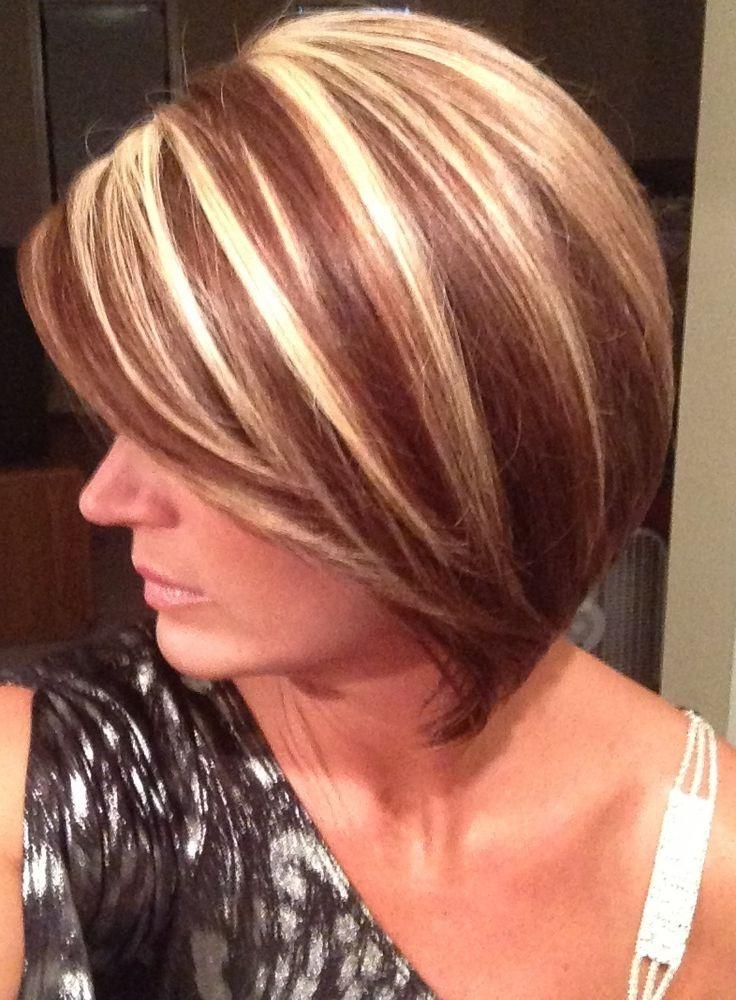 Explore Gallery Of Short Haircuts With Red And Blonde Highlights 3 Of 20 Short Hair Highlights Short Blonde Haircuts Hair Highlights