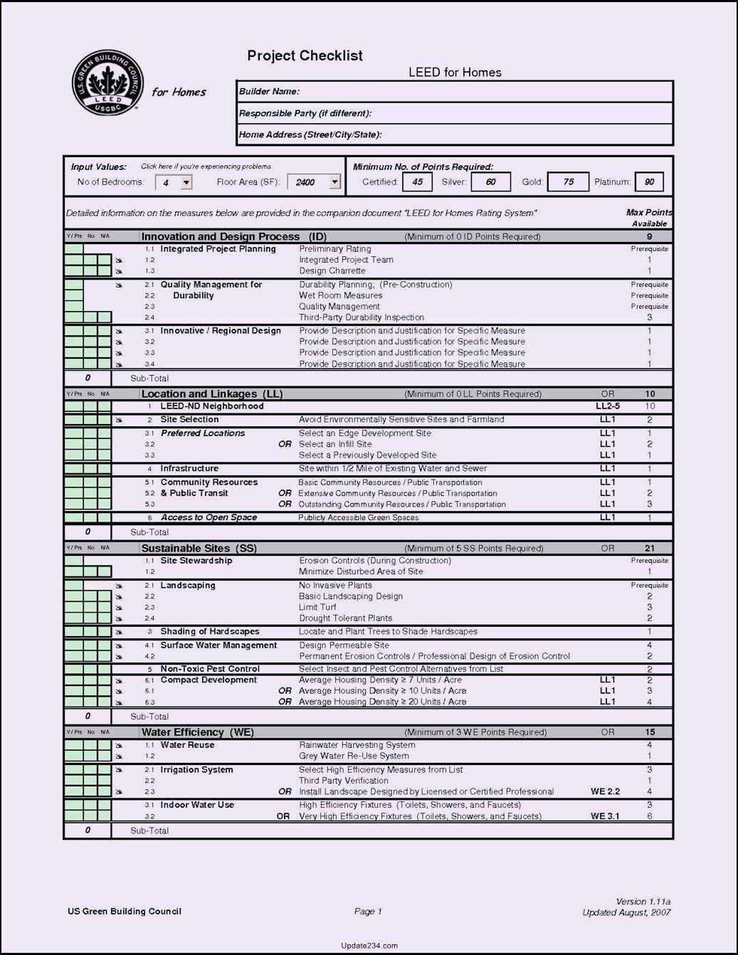 Construction Checklist Template Excel Beautiful 29 Of Construction
