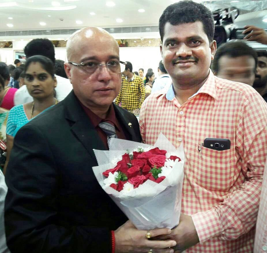 #kirankumar #lalithaajewellery Speak when you are angry - and you'll make the best speech you'll ever regret.