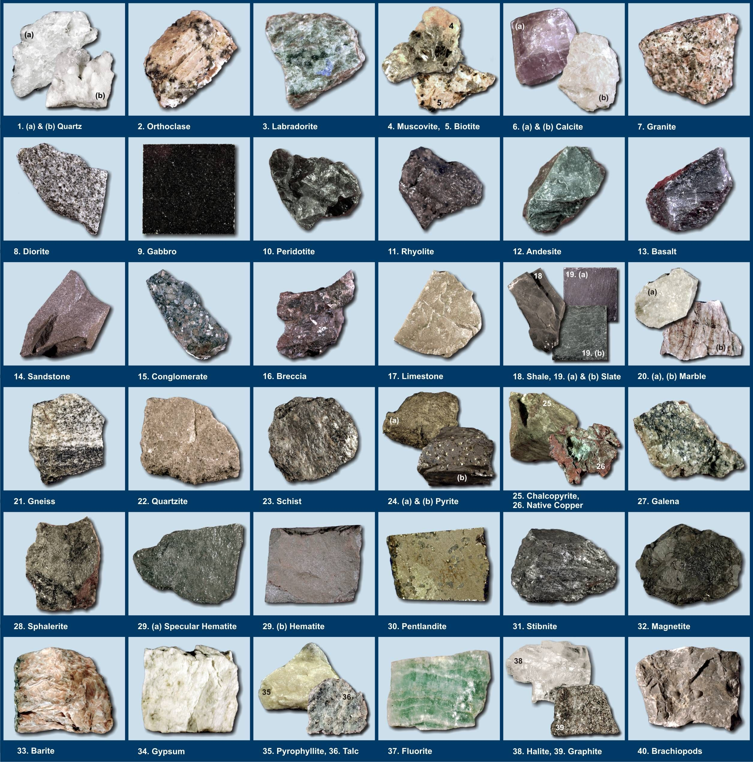 Mineral Poster Pdf Google Search Rock Identification Rock And Pebbles Raw Gemstones