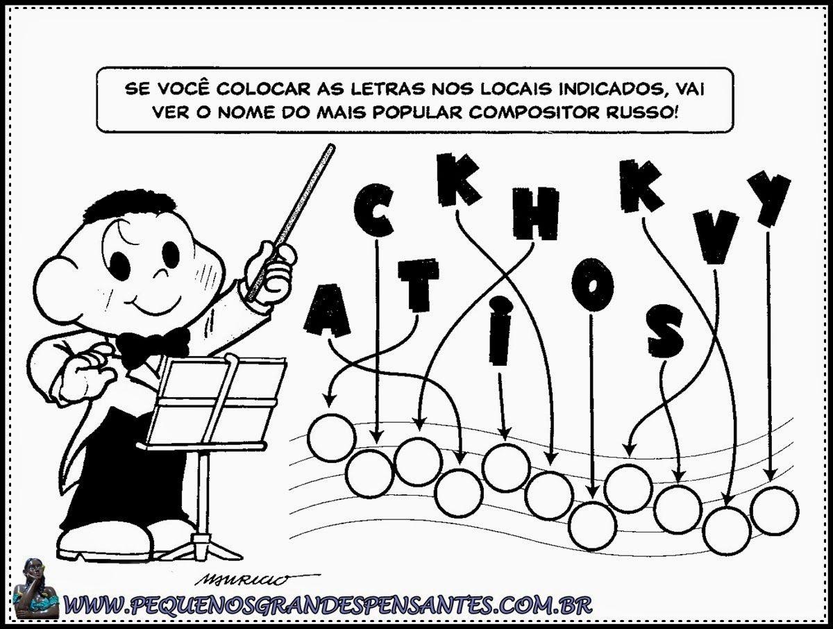 Atividades Musicais Para Educacao Infantil Com Imagens