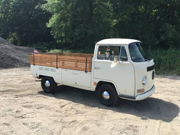 1969 Vw Bus Type 2 Pickup Truck Pickup Trucks Truck Campers For Sale Best Pickup Truck