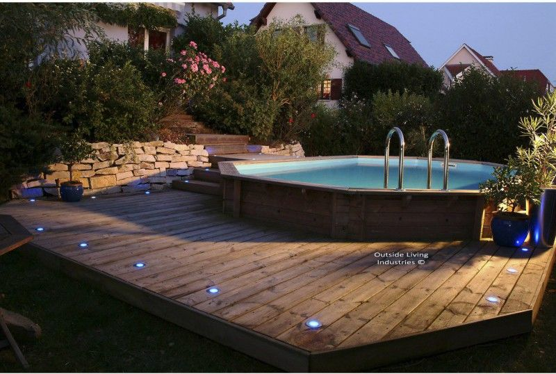 Installer une mini piscine plumetis magazine jardin for Installer une piscine