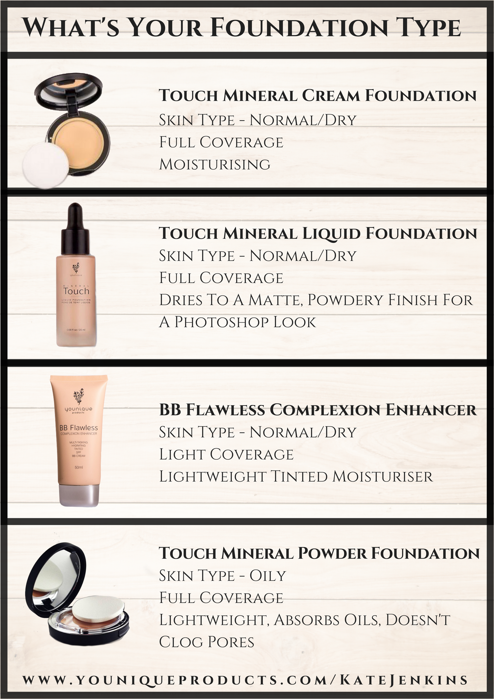 Get the right foundation for your skin type This guide
