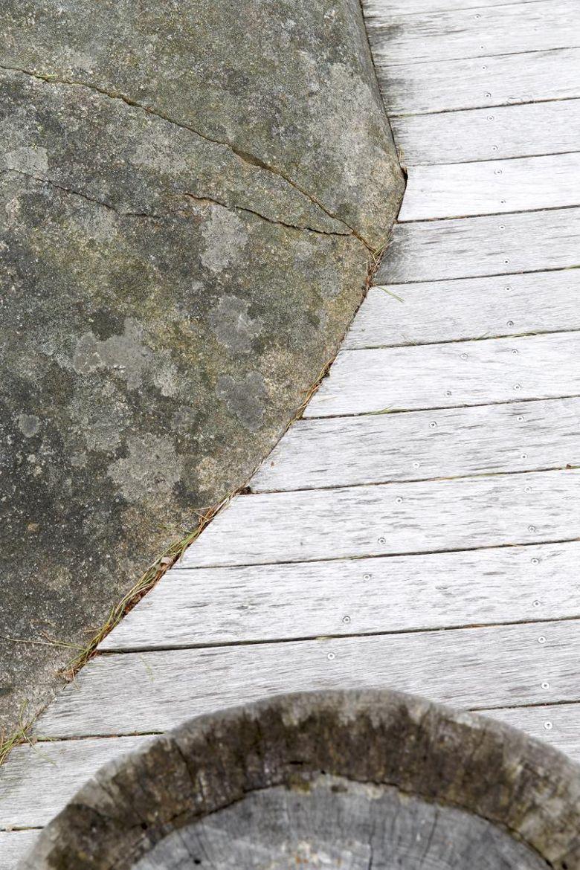 874f554b Nøktern perle: Hytta ble lagt så lavt som mulig i terrenget - Aftenposten