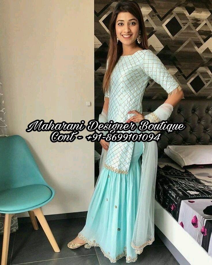 Latest Sharara Designs 2018   Maharani Designer Boutique