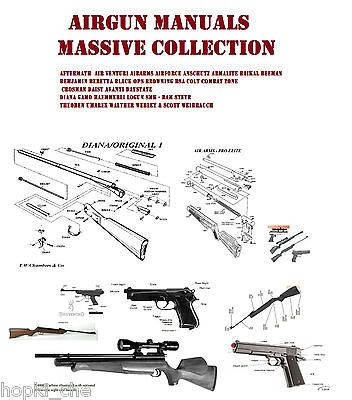 AIR RIFLE GUN OWNERS MANUALS AIRRIFLE WE HAVE LISTED 29 AIR