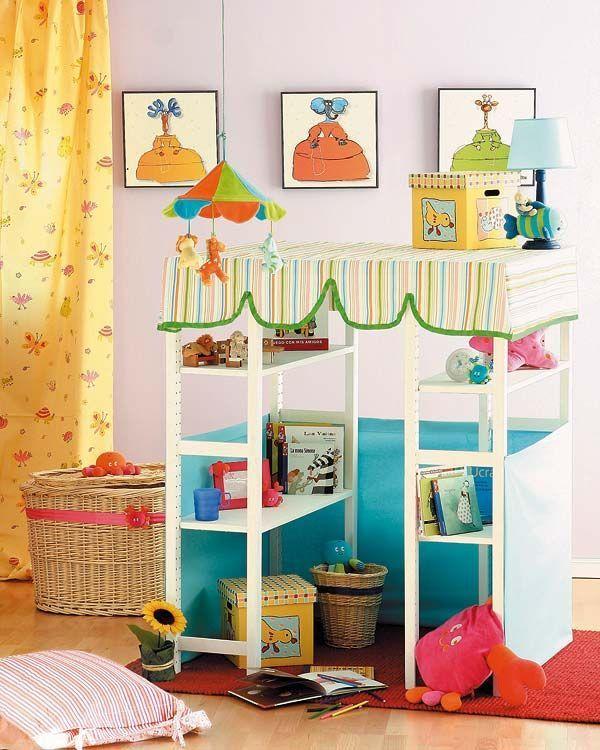 Reciclar muebles: 6 Ikea Hacks para niños   Beautiful kids, Cozy and ...