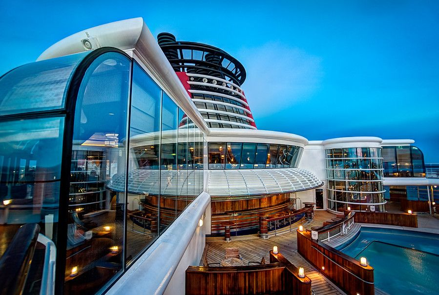 Here's another handheld shot from the on board the Disney Cruise I just enjoyed with my family. I've never been out on so many shoots in a week without taking my tripod! - Vancouver, Canada - Photo from #treyratcliff Trey Ratcliff at http://www.StuckInCustoms.com