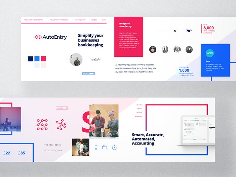 Stylescape Graphic Design: Stylescape For AutoEntry - Direction B