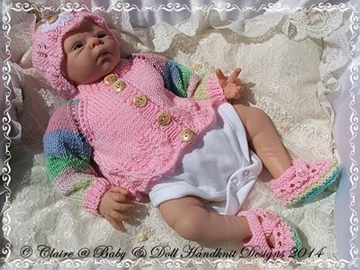 c9e73a53f023 New baby girl gift set cardigan