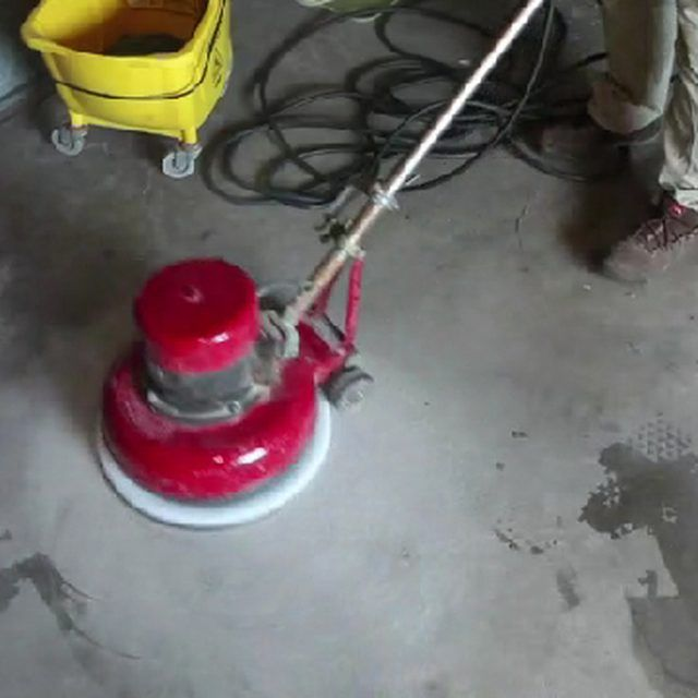 how to remove old paint from concrete floors diy pinterest