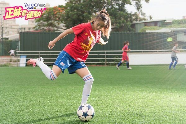 【正妹愛運動】Vol.37 遠征西班牙的足球甜姐兒 陳曉娟