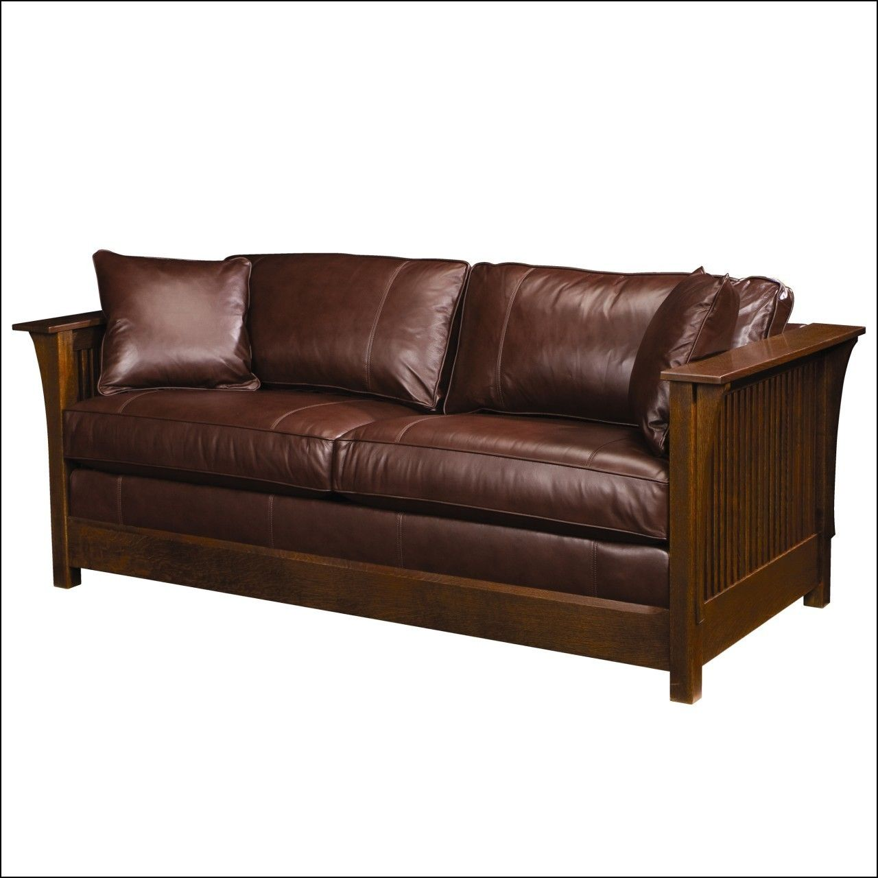 Leather Sofa Sleepers Queen Size Colorado Leather Sleeper