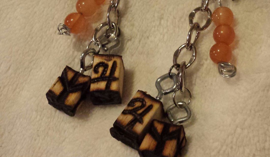 Protective rune and Jupiter charm and more items under $10.00 Wwwladystarsandfire.com