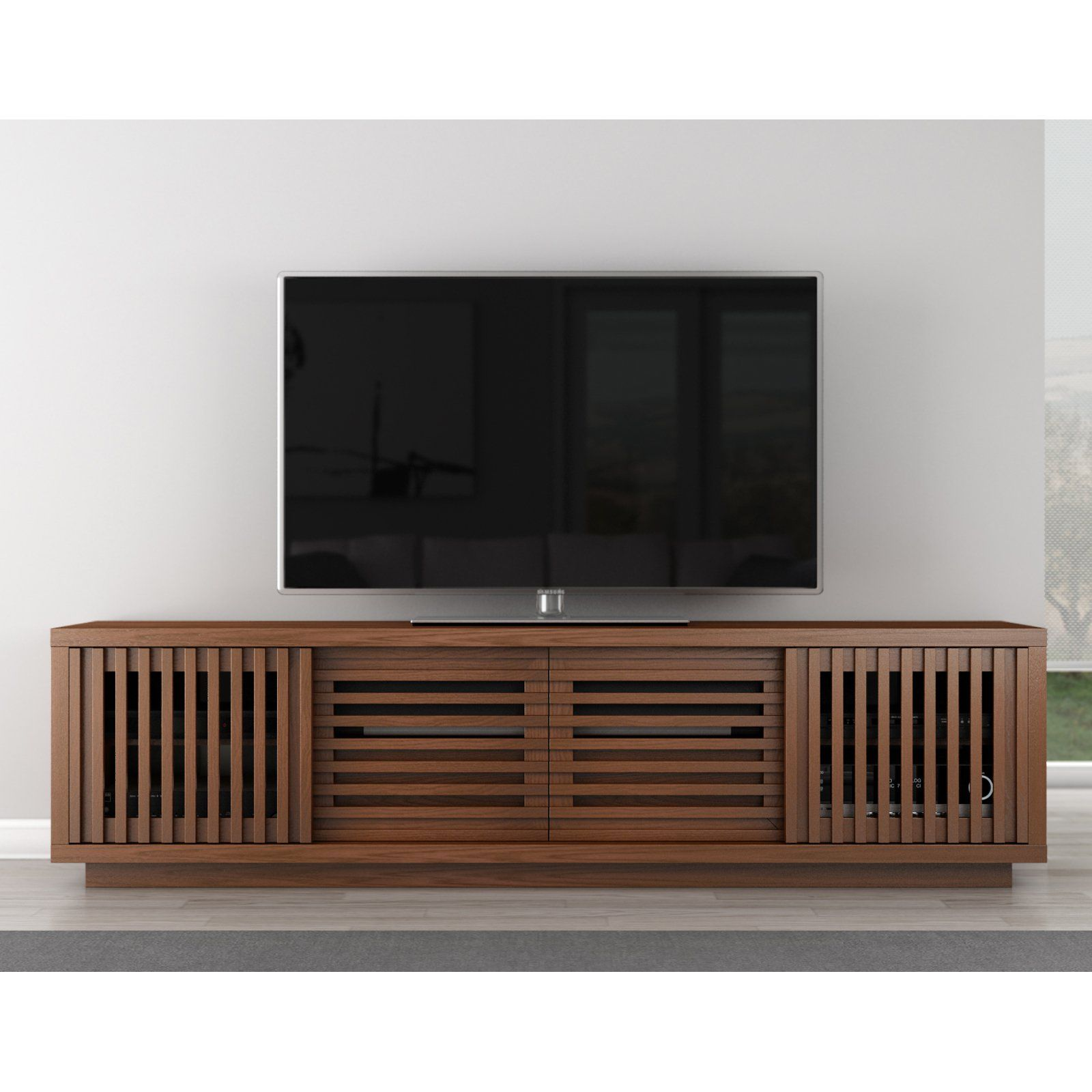 two stand products tv in mca bench media sizes center table jeff lowboard sideboard