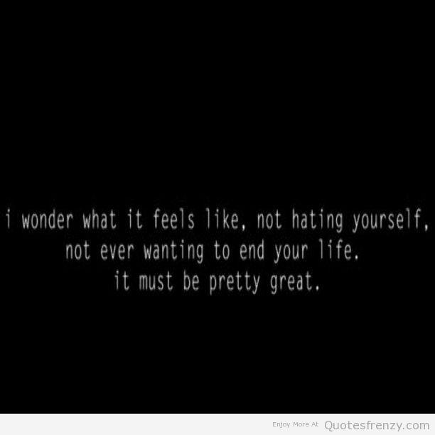 Sad Depressing Quotes Suicidal: Alone Depressed Suicidal Sad Life BlackandWhite Quotes
