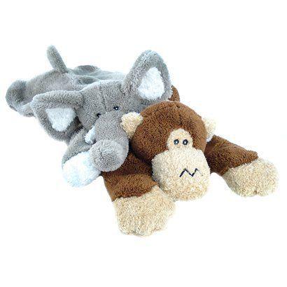 Boots And Barkley Large Floppy Plush Assorted Dog Toys Elephant