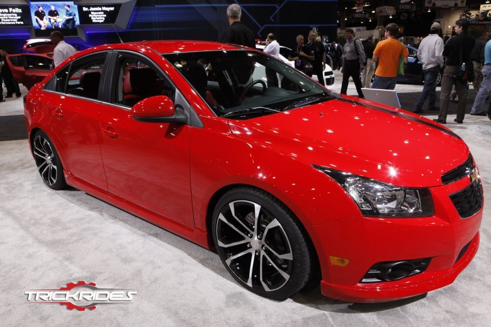2012 Chevrolet Cruze By General Motors Corp At Sema Trickrides Sema Customcarspics Aftermarketaccessories