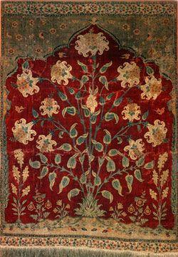 Aynard Carpet Mughal Pashmina Kashmir Circa 1630 1640 4