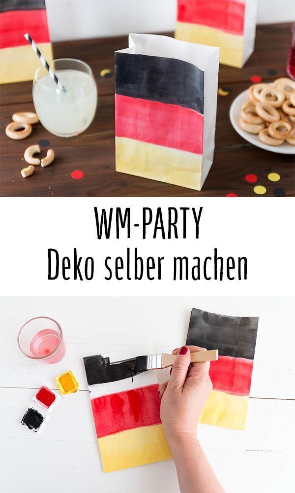 Wm Party Leckere Rezepte Und Tolle Diy Deko Fur Alle Fussballfans