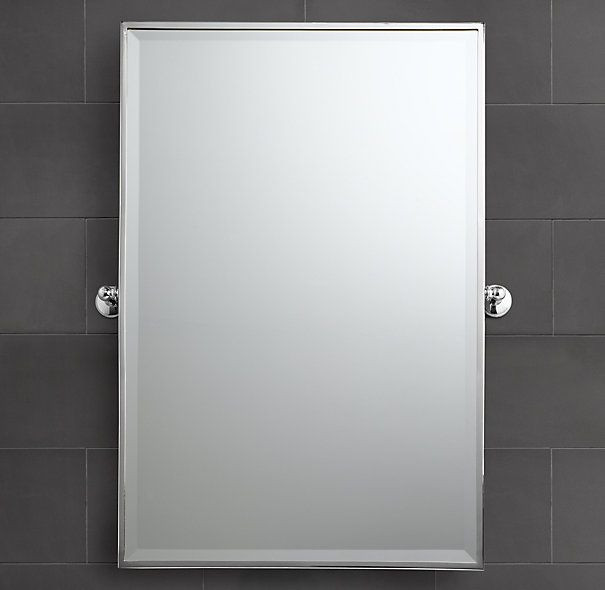 Restoration hardware chatham rectangular pivot mirror for Mirror 18 x 24