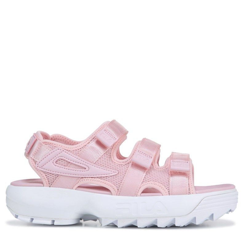 4c0ade9e1f Fila Women's Disruptor Sandals (Chalk Pink/White) in 2019 | Products ...