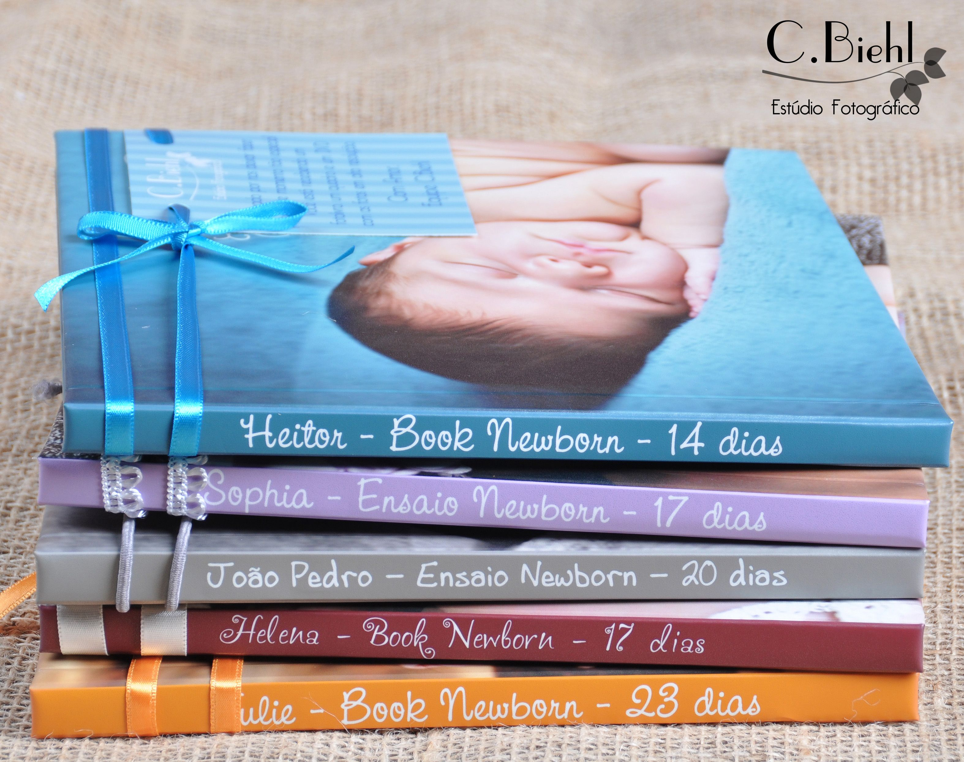 Fotolivros de Newborn - C.Biehl Estúdio  Porto Alegre  - handmade crafting - feitos com carinho - livros editorados - Embalagens Personalizadas www.cbiehl.com.br