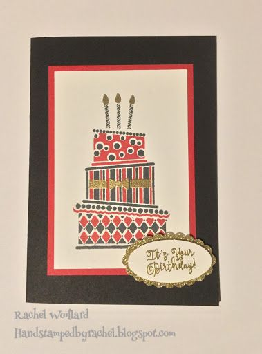 Stampin Up Cake Crazy Birthday Card From Occasions 2017 Card By