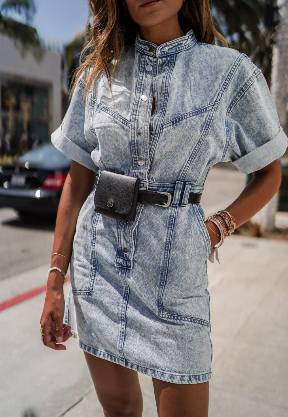 Pin By Allison Wetig On Junesixtyfive Denim Dress Outfit Jean Dress Outfits Denim Mini Dress [ 1444 x 1000 Pixel ]