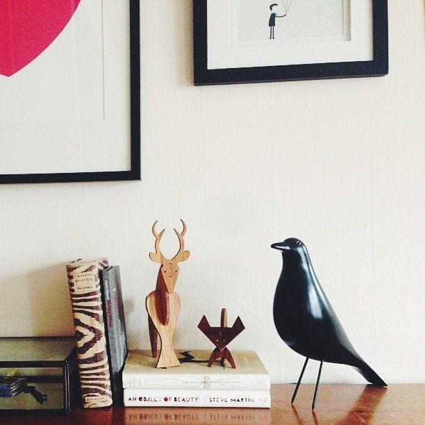 eames house bird via wit delight. Black Bedroom Furniture Sets. Home Design Ideas