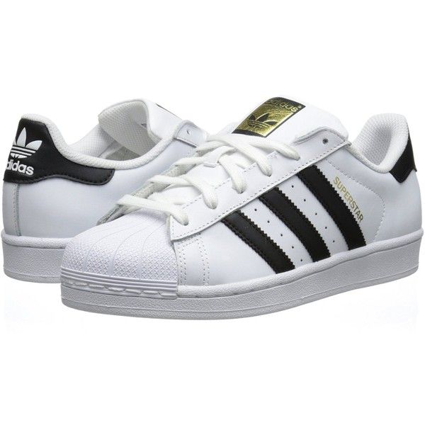adidas Women's Superstar Foundation Casual Sneaker ($75) ❤ liked on Polyvore featuring shoes, sneakers, adidas, sapatos, adidas originals sneakers, adidas originals, adidas originals shoes and adidas originals trainers