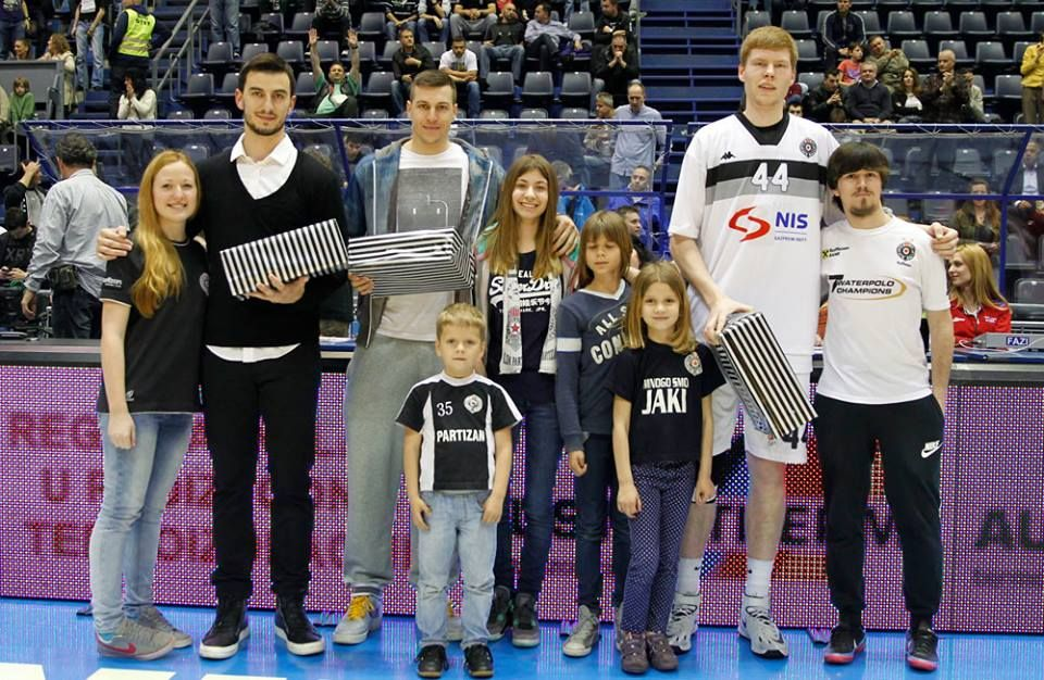 Léo Westermann, Dragan Milosavljević and Davis Bertans