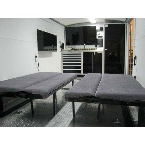 Fold Down Bed For Trailer Rv Moduline Cabinets