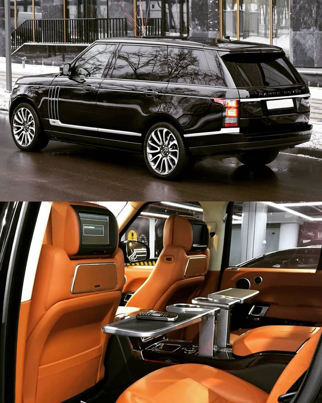 "Photo of 👑 LUXURY IS A LIFESTYLE 👑 on Instagram: ""Rear seat luxury treatment 🥂🍾😍😍 Range Rover Vogue SVautobiography 🔥🔥🔥👑👑✌ 👉 @autotrade_moscow 👈 👉 @ssmotors 👈  #highbosslife #mercedesbenz…"""