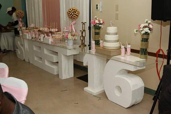 Sweet 16 Styrofoam Letter Large Foam Letters Big Foam