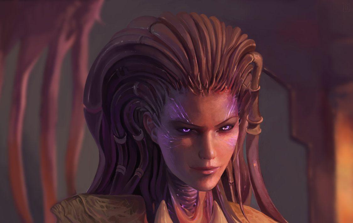 Sarah Kerrigan From Starcraft By Dzikawa On Deviantart
