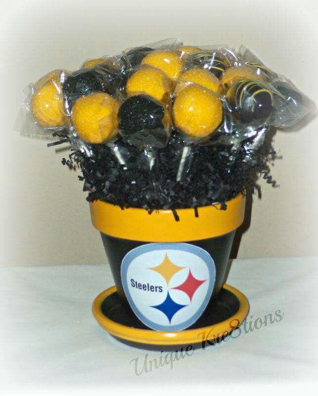 c4e15760 Pittsburgh Steelers Pot-of-Cake Pops | Shasha's Creations ...