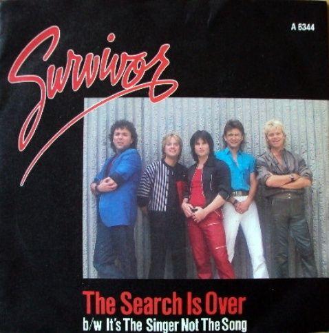 Survivor The Search Is Over Musica Disco Grupo De Musica Musica