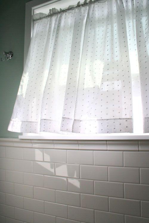 Swiss Dot Bathroom Window Treatments Small Window Curtains Bathroom Window Curtains
