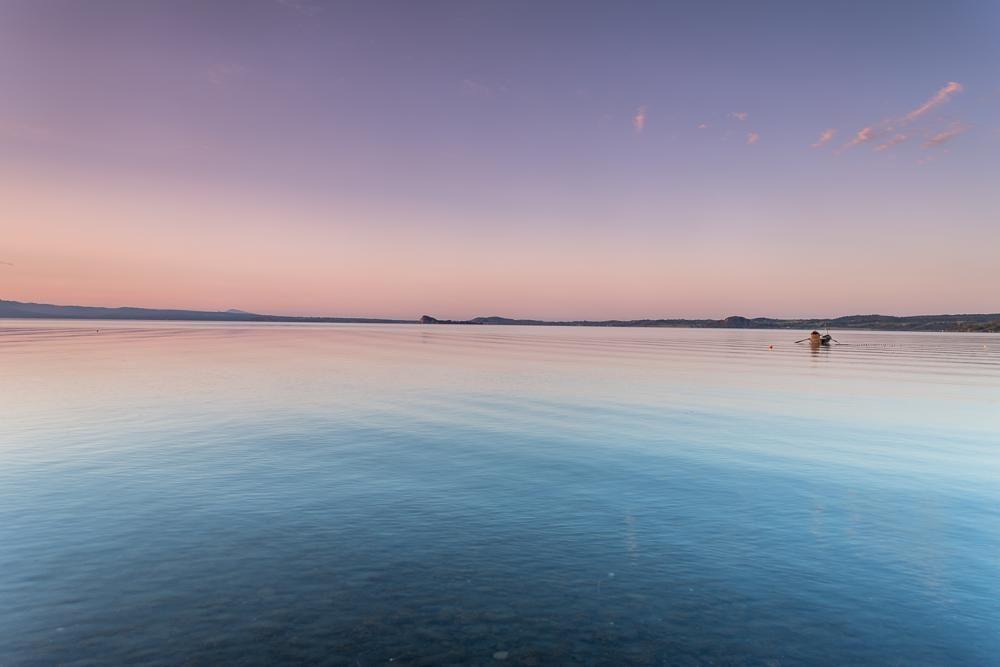 Early morning over Lago di Bolsena, Lazio, Italy by ...