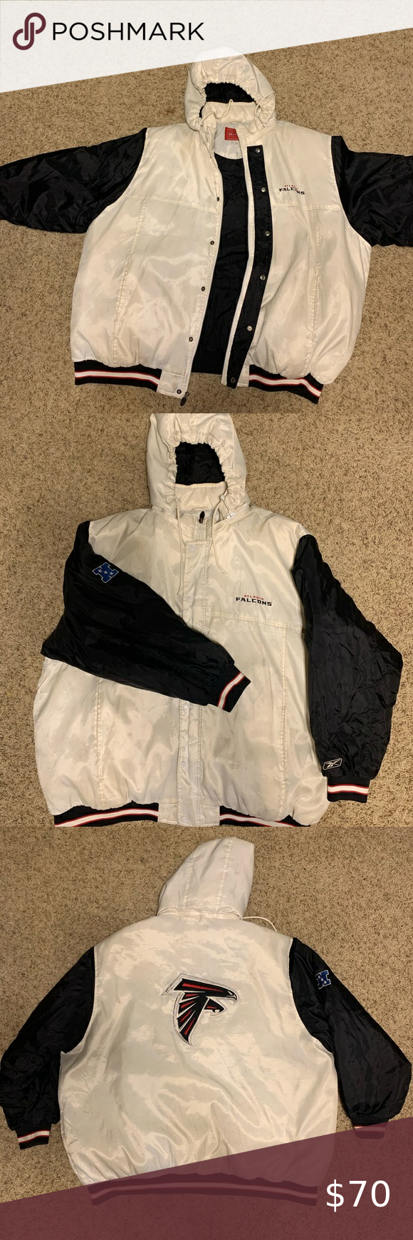 Vintage Atlanta Falcons Reebok Puffer Jacket Size 3xl White Is Partly Faded And Some Stains Here And There Just From Time Remo Puffer Jackets Jackets Reebok [ 1740 x 580 Pixel ]