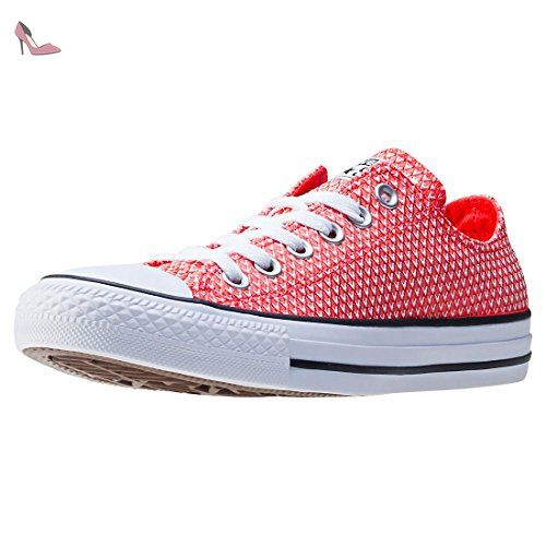 Converse All Star Ox Femme Baskets Mode Rouge - Chaussures ...