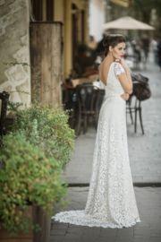vintage jurk kant