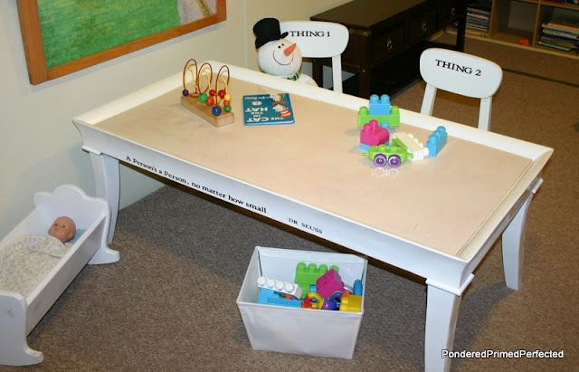Fine Coffee Table Turned Sensory Playroom Table For The Kids Download Free Architecture Designs Scobabritishbridgeorg